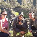colleen tobin in a machu picchu tour with machu travel peru