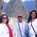 kuldip sudha dhar in machu picchu with machu travel peru