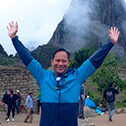 angel fajardo with machu travel peru