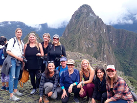 good time in machu picchu