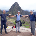 ray kato in a tour with machu travel peru