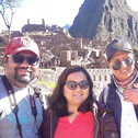 ashlesha bholane in a tour with machu travel peru