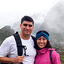 thania salazar with machu travel peru