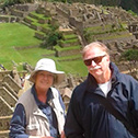 susan houck with machu travel peru
