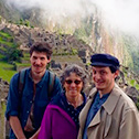 karen hicks with machu travel peru