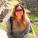 natalie morales in machu picchu with machu travel peru