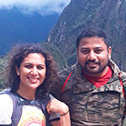 karthik harsha with machu travel peru