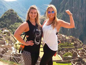our time in machu picchu was amazing