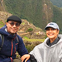 sunny dugal with machu travel peru