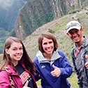 tara mowreader with machu travel peru