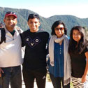 thomas koshy tour in machu picchu