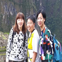 senna cheung with Machu Travel Peru