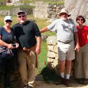 trish laplaca in machu picchu with machu travel peru