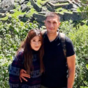 Jacqueline villarruel & Anthony Martinez with machu travel peru