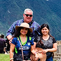 rosario walker with machu travel peru
