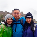 brian yen with machu travel peru