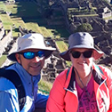cesar zapata with machu travel peru