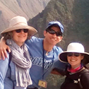 stephanie lemieux with machu travel peru