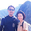 emi kobayashi with machu travel peru