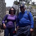 judy edignton with machu travel peru