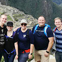 Shawneen flanders in a tour with machu travel peru
