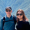 Andreas Theilgaard & Alejandra Gabaldos with machu travel peru
