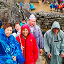 margie lorraine with machu travel peru