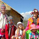 risto paavilainen & family in a tour with machu travel peru