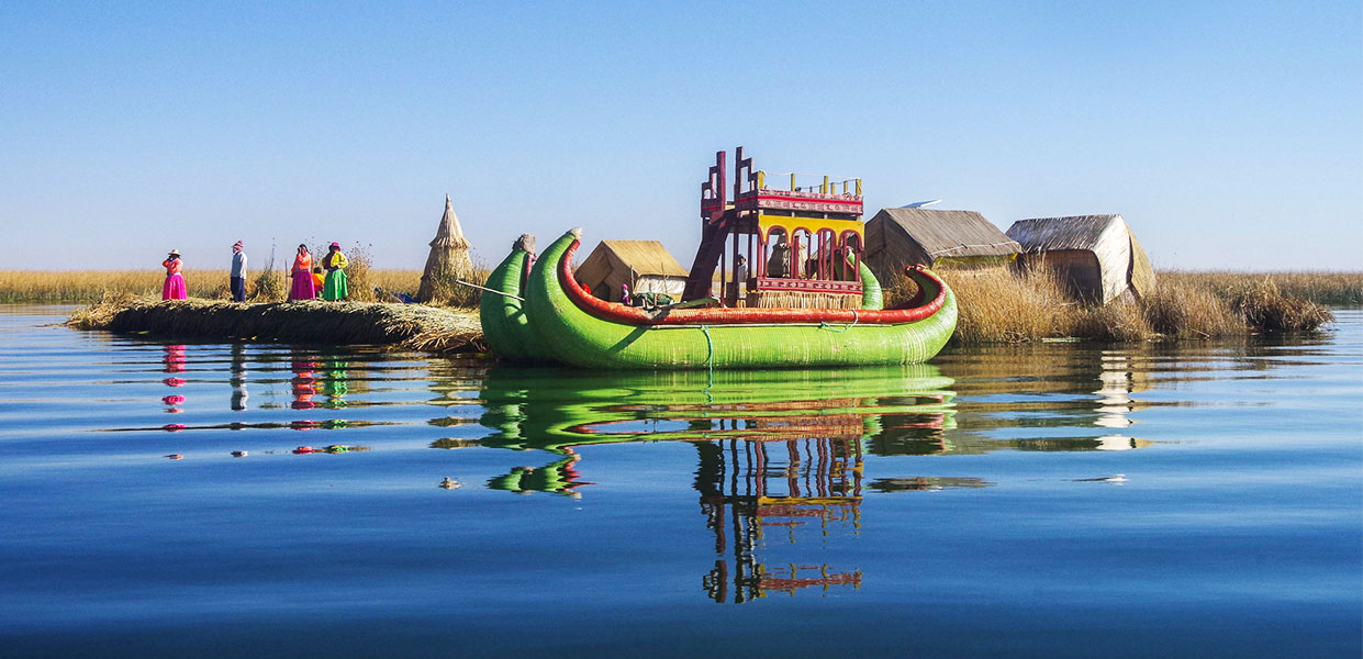 lake titicaca destination, amazing lake, with uros islands