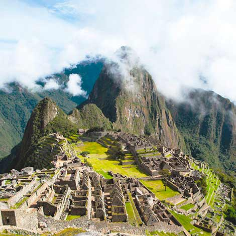 machu picchu destination, beautiful and magical place