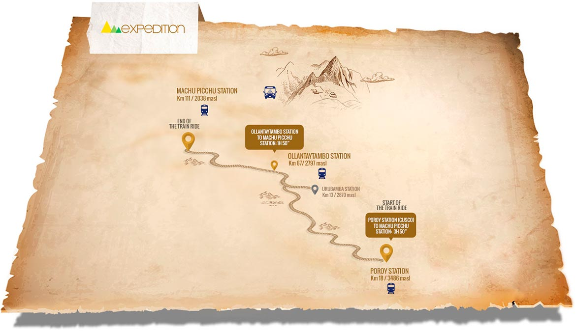 expedition route to machu picchu